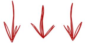arrows_three_down